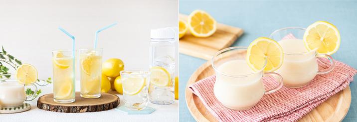 【withレモン】おいしく熱中症&夏バテ対策♪ 暑さに負けないさわやかレモンドリンクレシピのイメージ