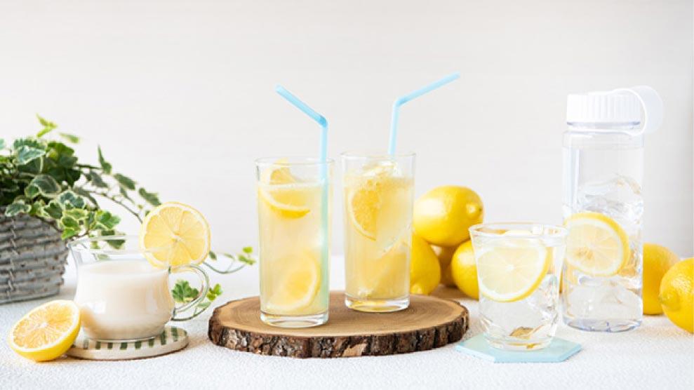 【withレモン】おいしく熱中症&夏バテ対策♪<br /> 暑さに負けないさわやかレモンドリンクレシピのイメージ